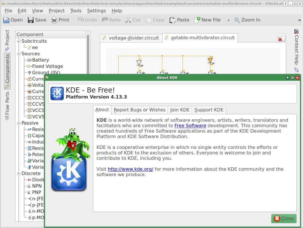 KDE4 and Qt4 are dependencies