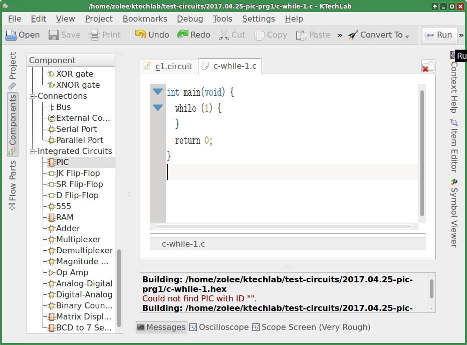 Code debugging on microcontroller needs work